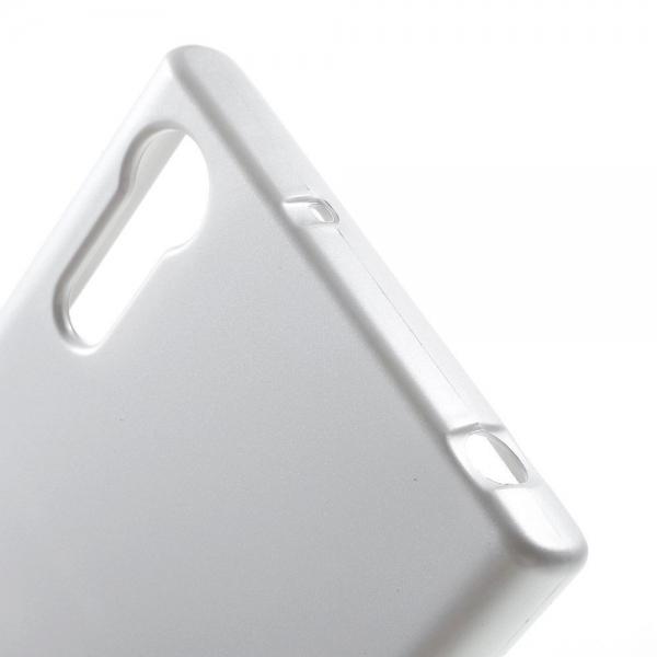 Husa Goospery i-Jelly Sony Xperia XZ, Silver 2