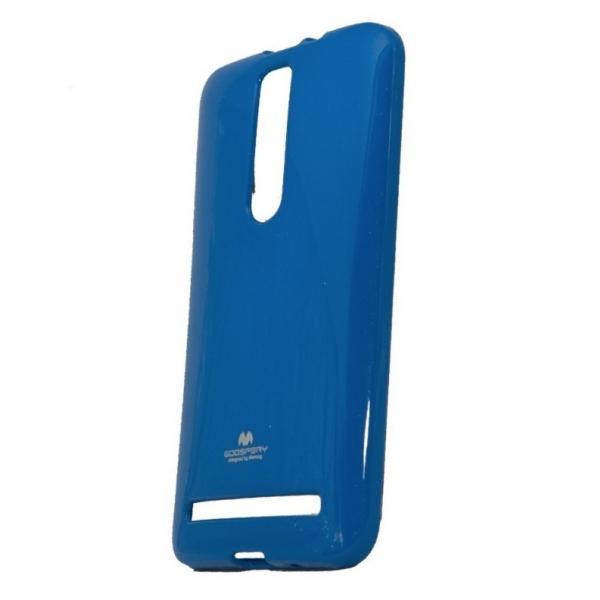 Husa Goospery Jelly Asus ZenFone 2 ZE551ML, Navy Blue