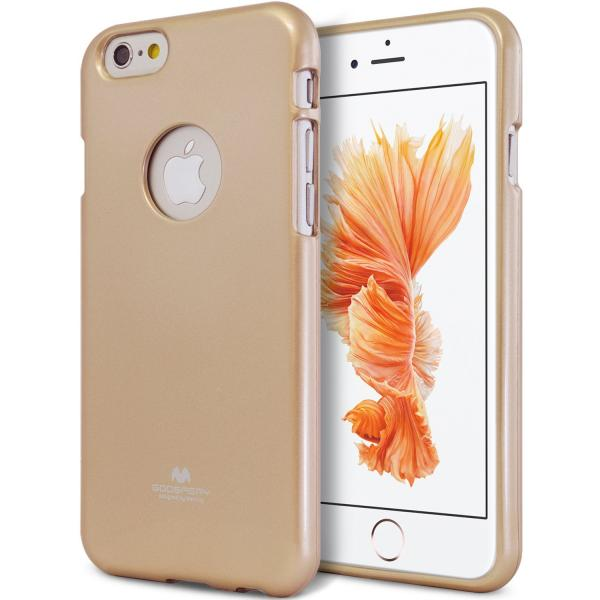 Husa Goospery Jelly iPhone 6 Plus / 6S Plus, Gold 0