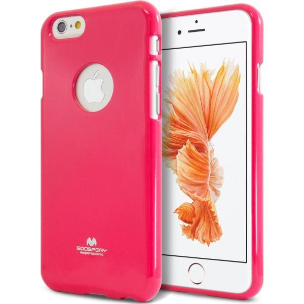 Husa Goospery Jelly iPhone 6 Plus / 6S Plus, Hot Pink 0