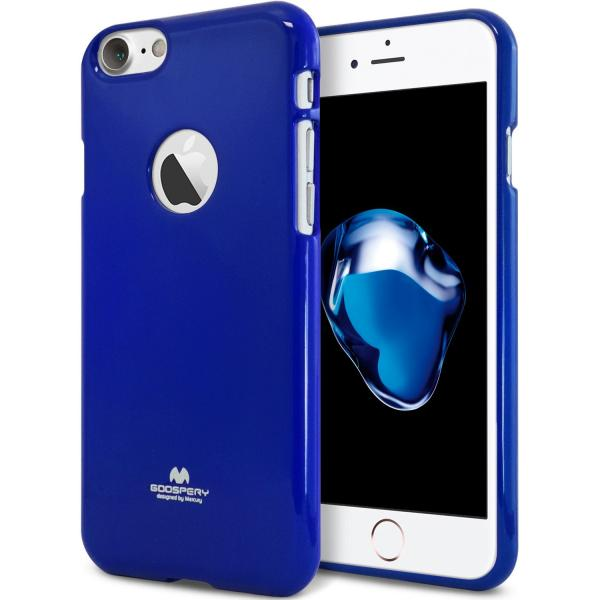 Husa Goospery Jelly iPhone 7, Blue