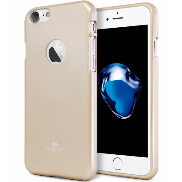 Husa Goospery Jelly iPhone 7, Gold