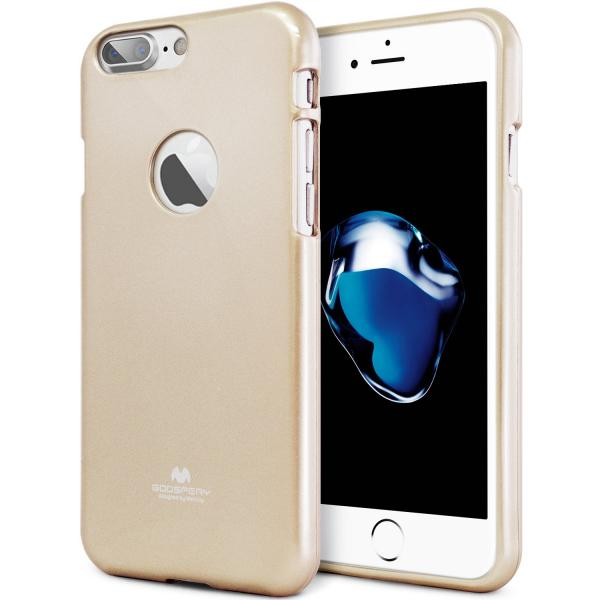 Husa Goospery Jelly iPhone 7 Plus, Gold 0