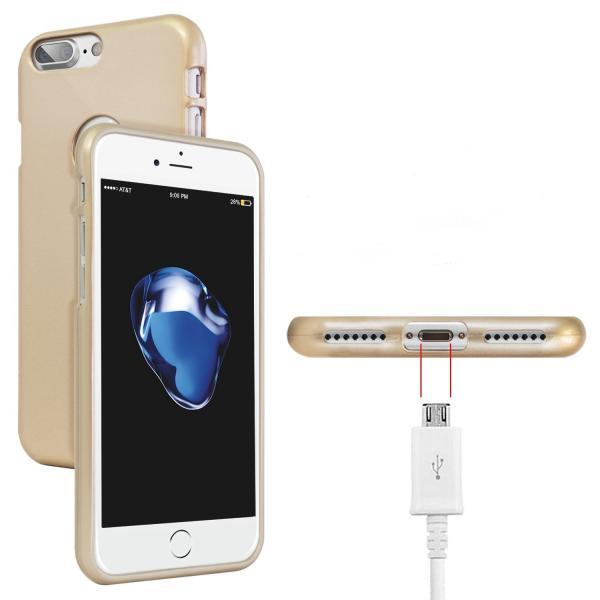 Husa Goospery Jelly iPhone 7 Plus, Gold 1