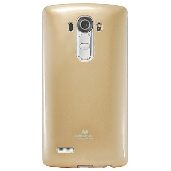 Husa Goospery Jelly LG G4, Gold 1