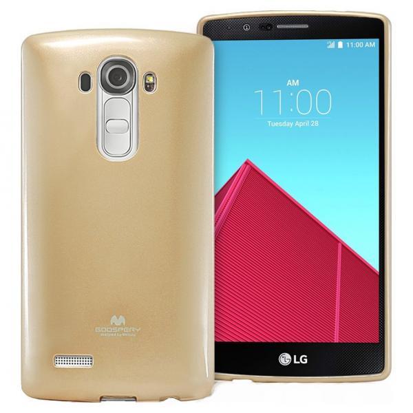Husa Goospery Jelly LG G4, Gold [0]