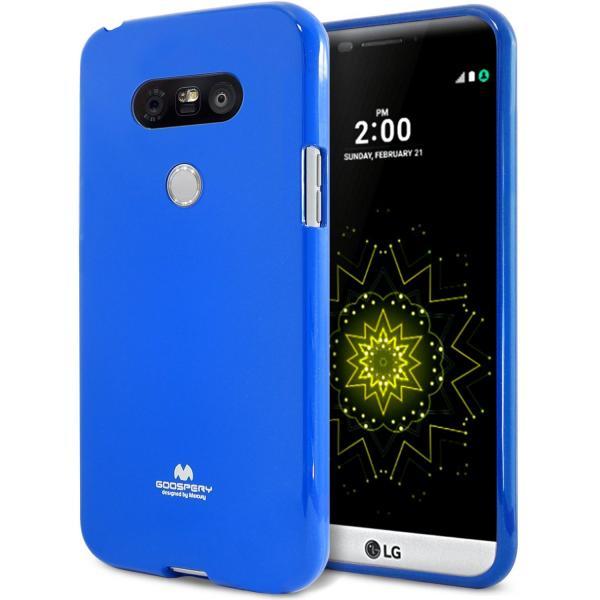 Husa Goospery Jelly LG G5, Blue 0
