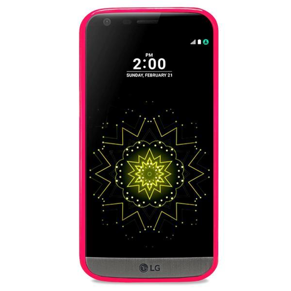 Husa Goospery Jelly LG G5, Hot Pink 1