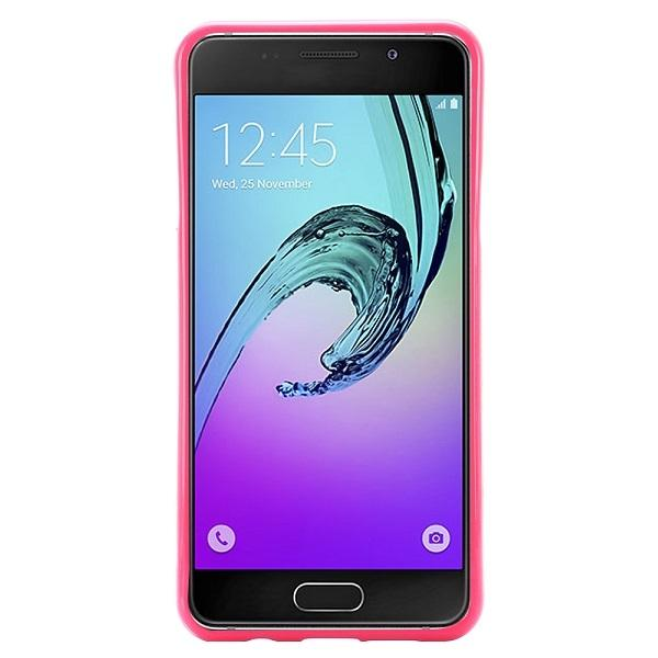 Husa Goospery Jelly Samsung Galaxy A3 (2016), Hot Pink [1]