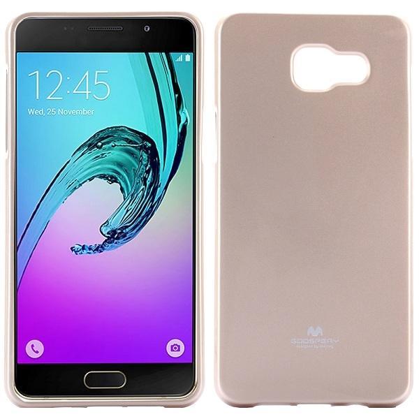 Husa Goospery Jelly Samsung Galaxy A5 (2016), Gold