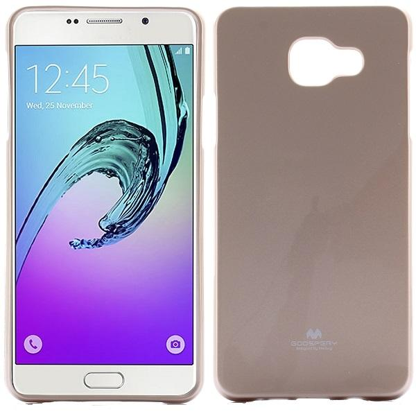 Husa Goospery Jelly Samsung Galaxy A7 (2016), Gold 0