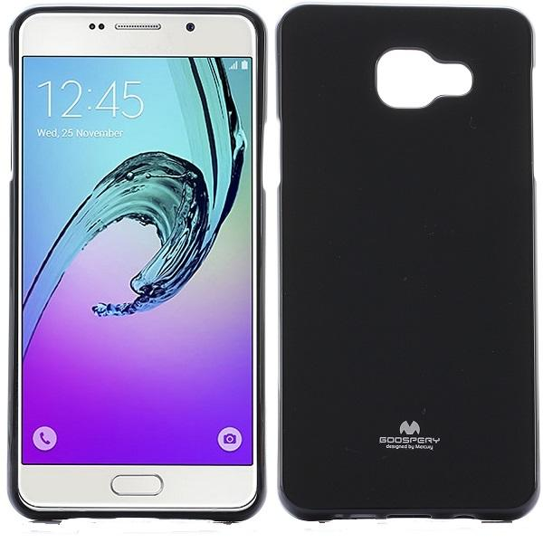Husa Goospery Jelly Samsung Galaxy A7 (2016), Negru 0