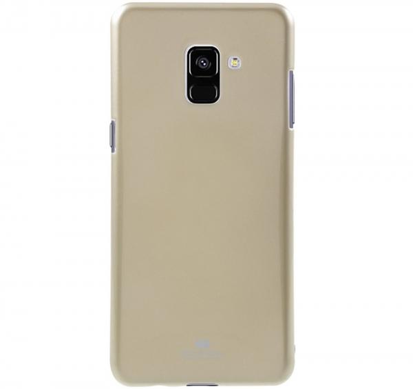 Husa Goospery Jelly Samsung Galaxy A8 (2018), Gold [0]