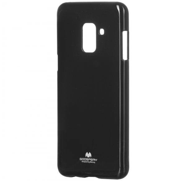 Husa Goospery Jelly Samsung Galaxy A8 (2018), Negru [2]