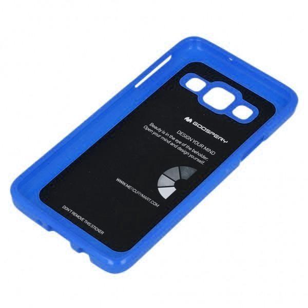 Husa Goospery Jelly Samsung Galaxy J3 (2016), Blue 2