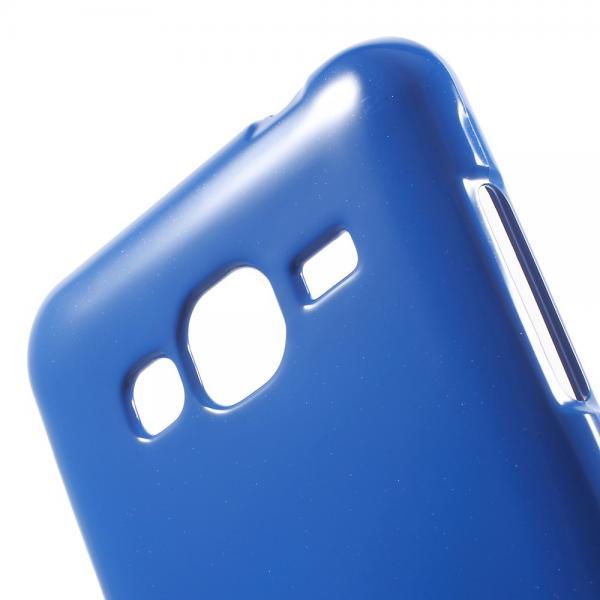 Husa Goospery Jelly Samsung Galaxy J3 (2016), Blue 4