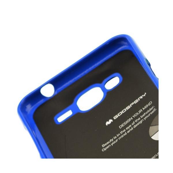 Husa Goospery Jelly Samsung Galaxy J3 (2016), Blue 3