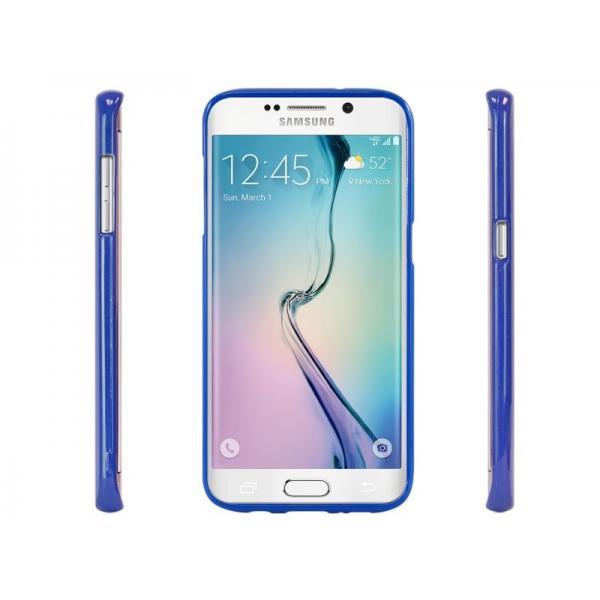 Husa Goospery Jelly Samsung Galaxy S6 Edge, Blue 1