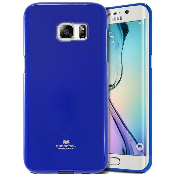 Husa Goospery Jelly Samsung Galaxy S6 Edge, Blue 0