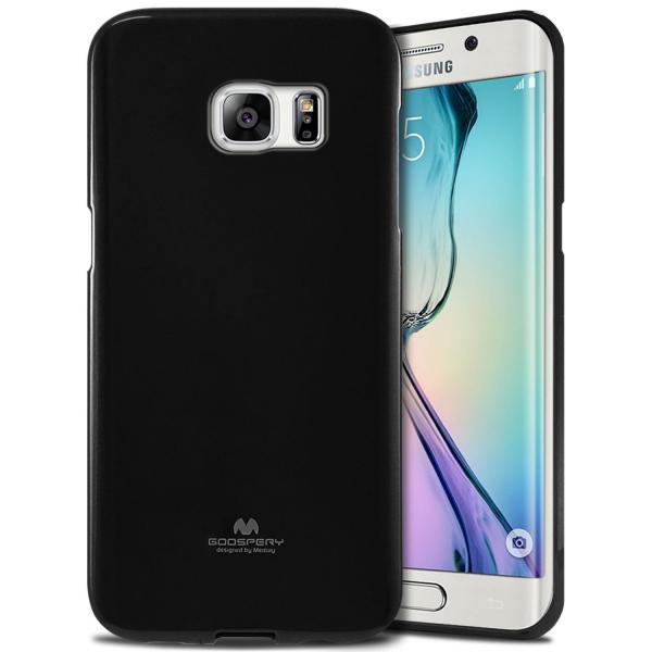 Husa Goospery Jelly Samsung Galaxy S6 Edge, Negru