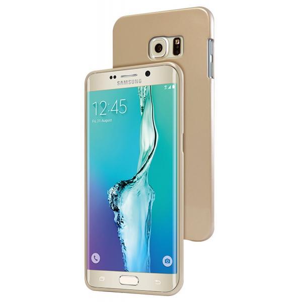 Husa Goospery Jelly Samsung Galaxy S6 Edge Plus, Gold 1