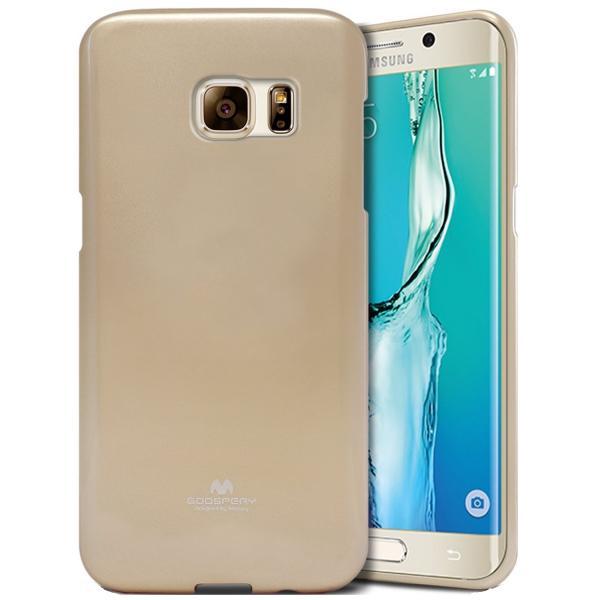 Husa Goospery Jelly Samsung Galaxy S6 Edge Plus, Gold 0