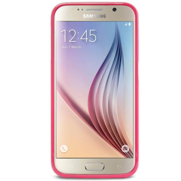 Husa Goospery Jelly Samsung Galaxy S6, Hot Pink 2