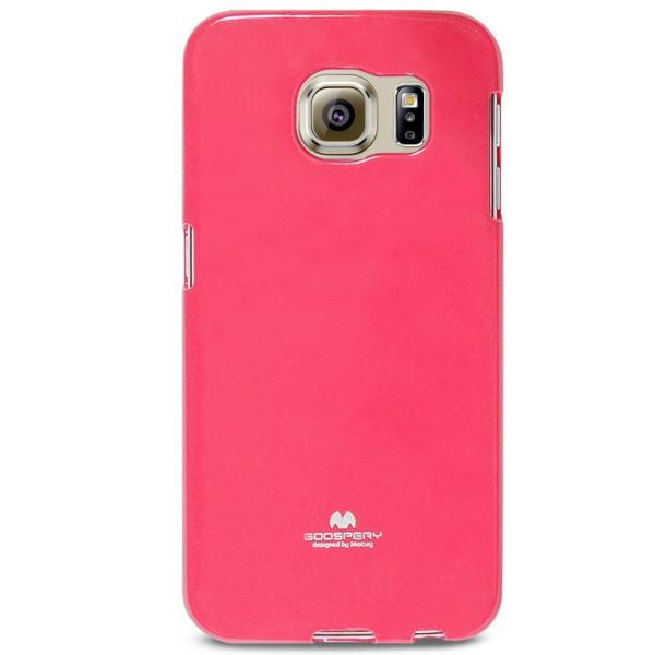 Husa Goospery Jelly Samsung Galaxy S6, Hot Pink 1