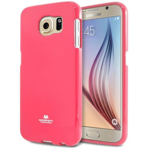 Husa Goospery Jelly Samsung Galaxy S6, Hot Pink 0