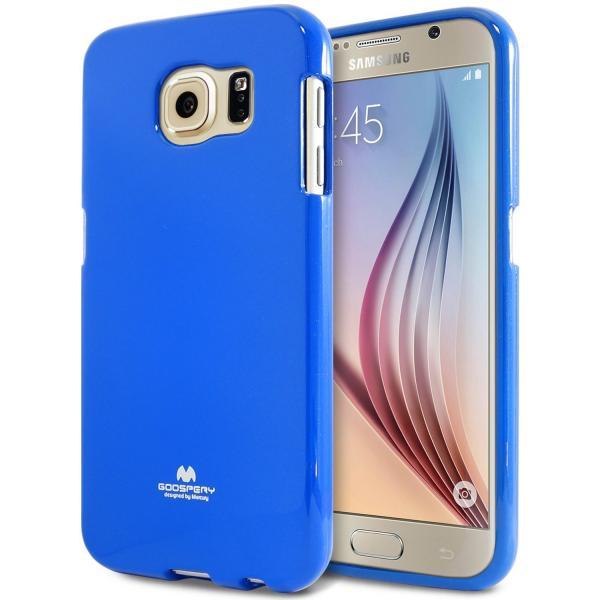 Husa Goospery Jelly Samsung Galaxy S6, Navy Blue 0