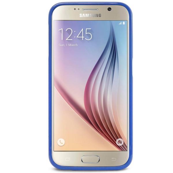 Husa Goospery Jelly Samsung Galaxy S6, Navy Blue 1