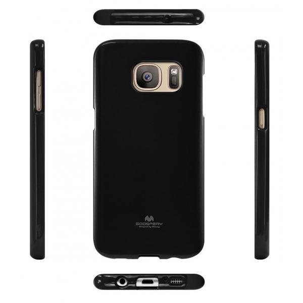 Husa Goospery Jelly Samsung Galaxy S7, Negru 1