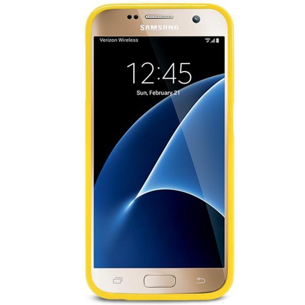 Husa Goospery Jelly Samsung Galaxy S7, Yellow 2