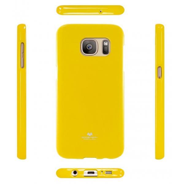 Husa Goospery Jelly Samsung Galaxy S7, Yellow 1