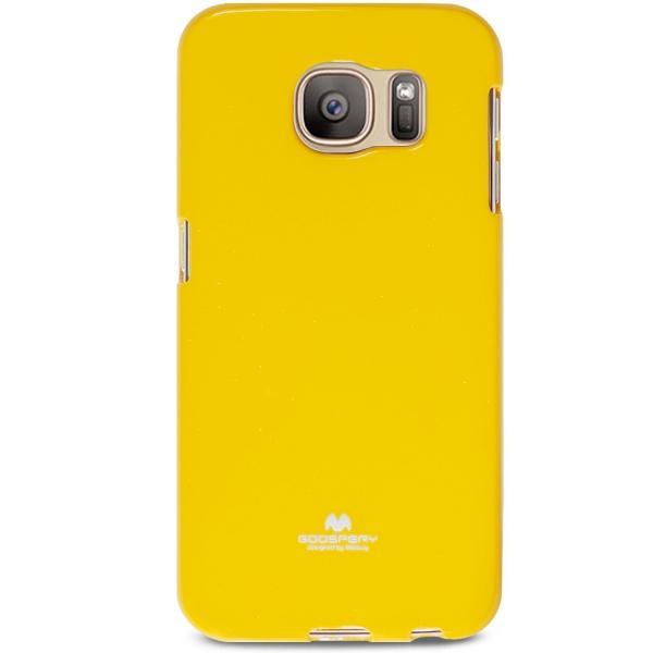 Husa Goospery Jelly Samsung Galaxy S7, Yellow 0