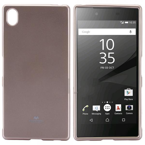 Husa Goospery Jelly Sony Xperia Z5 Premium, Gold 1