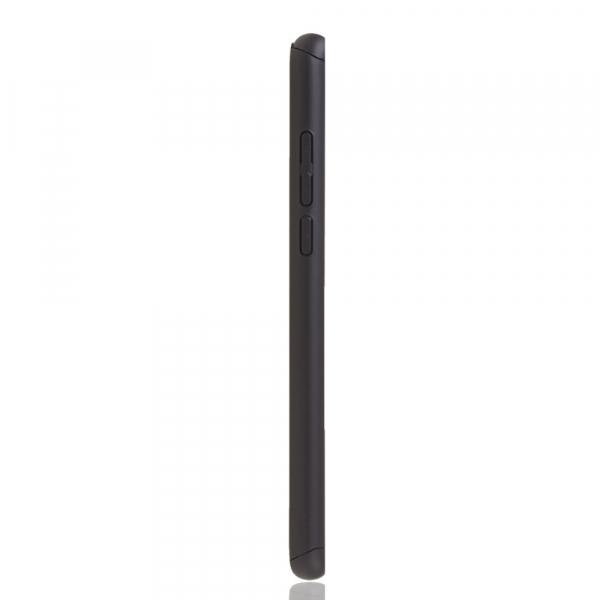 Husa Huawei Honor View 20 Full Cover 360 + folie sticla, Negru 3