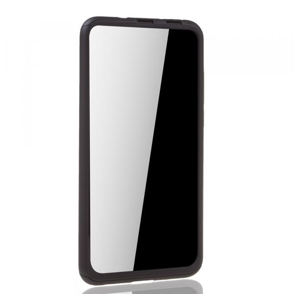 Husa Huawei Honor View 20 Full Cover 360 + folie sticla, Negru 2