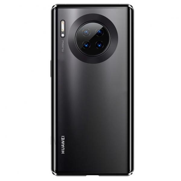 Husa Huawei Mate 30 Pro Magnetic Glass 360 (sticla fata + spate), Negru 1