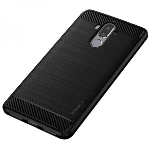 Husa Huawei Mate 9 iPaky Fiber, Negru [2]