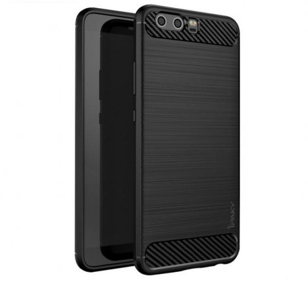 Husa Huawei P10 iPaky Fiber, Negru 0