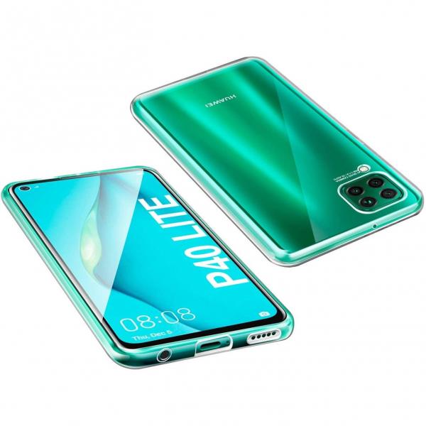 Husa Huawei P40 Lite Full TPU 360 (fata + spate), Transparent 2