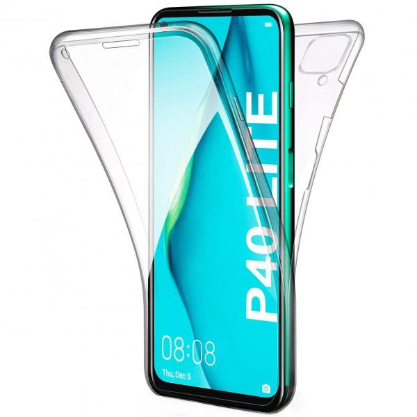Husa Huawei P40 Lite Full TPU 360 (fata + spate), Transparent 0