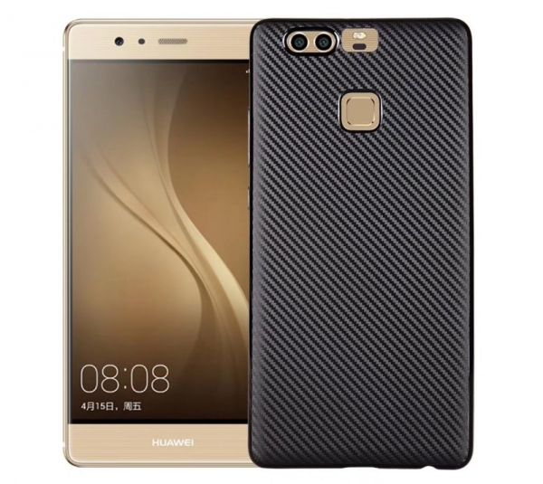 Husa Huawei P9 i-Zore Carbon, Negru 0