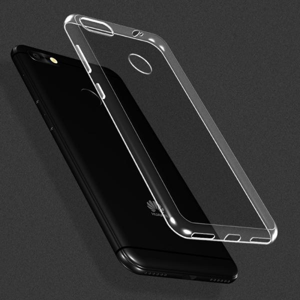 Husa Huawei P9 Lite Mini 2017 TPU Slim, Transparent 3
