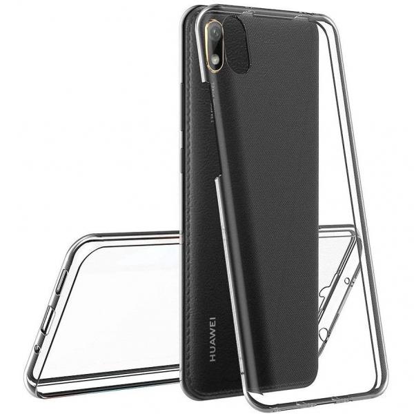 Husa Huawei Y5 2019 Full TPU 360 (fata + spate), Transparent 1