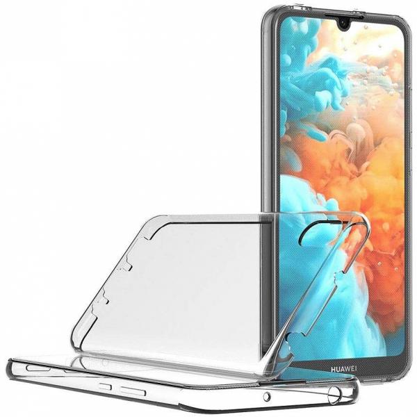 Husa Huawei Y5 2019 Full TPU 360 (fata + spate), Transparent 2
