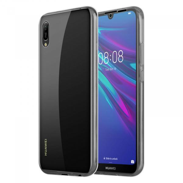 Husa Huawei Y5 2019 Full TPU 360 (fata + spate), Transparent 3