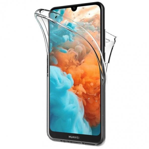 Husa Huawei Y5 2019 Full TPU 360 (fata + spate), Transparent 0