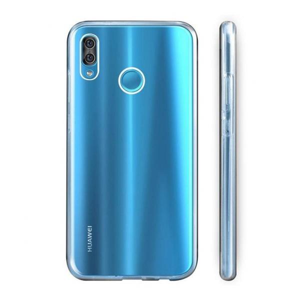 Husa Huawei Y6 2019 Full TPU 360 (fata + spate), Transparent 2